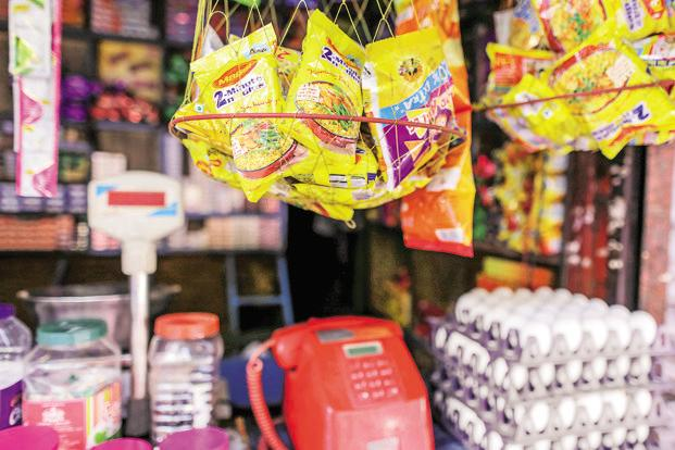 A Lucknow-based laboratory found ash content higher than the permissible limit in samples of Maggi noodles collected in November 2016. Photo: Bloomberg