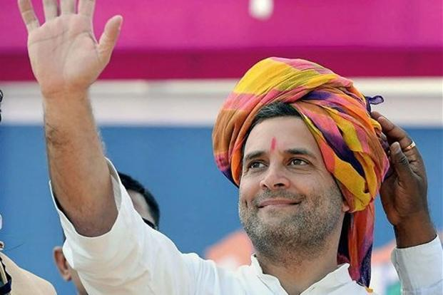 Congress vice president Rahul Gandhi is expected to file the nomination for the Congress president's post on 4 December. Photo: PTI