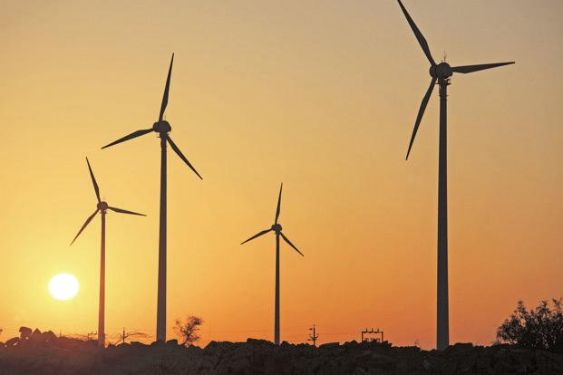 "India's first wind auctions this year put an abrupt end to guaranteed feed-in-tariffs, leading to ""low visibility"" growth next year. Photo: Mint"