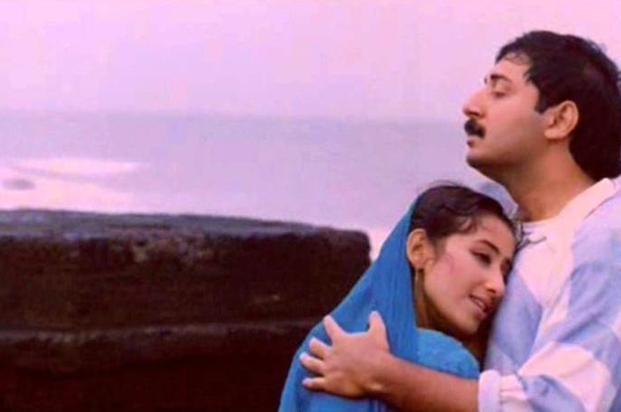 A screen shot from Mani Ratnam's 1995 film, 'Bombay'.