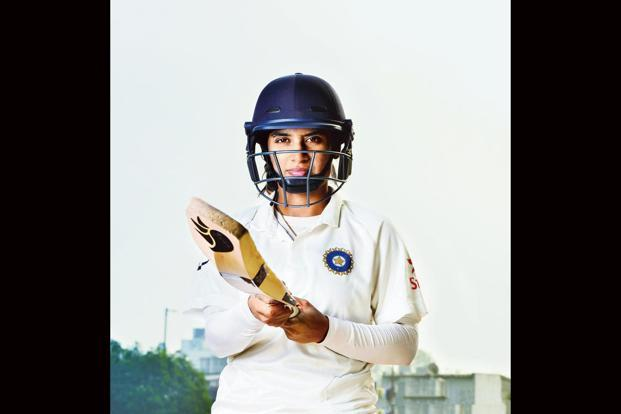 Mithali Raj during a practice session at the academy. Photographs by Priyanka Parashar/Mint