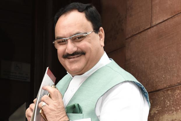 Union health minister J.P. Nadda said early detection, reporting and proper categorization of patients was critical for swine flu management, Photo: HT