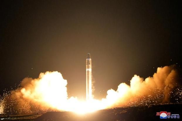 The US has urged nations to step up maximum pressure against North Korea after the reclusive state fired an intercontinental ballistic missile (ICBM) on Tuesday. Photo: Reuters