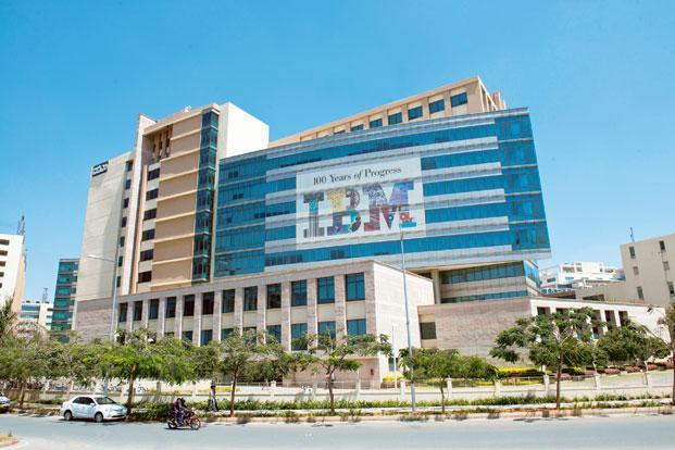 IBM posted robust growth of nearly 41% in the April-March period, driven by strong technology spending in the domestic outsourcing market. Photo: Aniruddha Chowdhury/Mint
