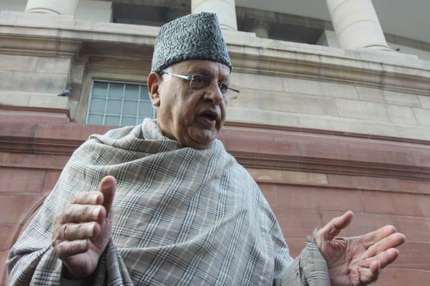 "Former Jammu and Kashmir chief minister Farooq Abdullah also claimed that there was a ""growing sense of alienation"" among the people, especially the youth. Photo: Sonu Mehta/HT"