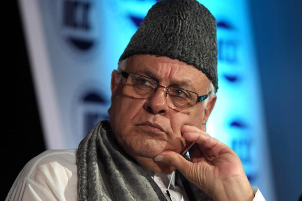 File photo. Farooq Adbullah cautioned people against the 'machinations of the divisive forces, which may try to vitiate the atmosphere by engineering a communal divide'. Photo: Reuters