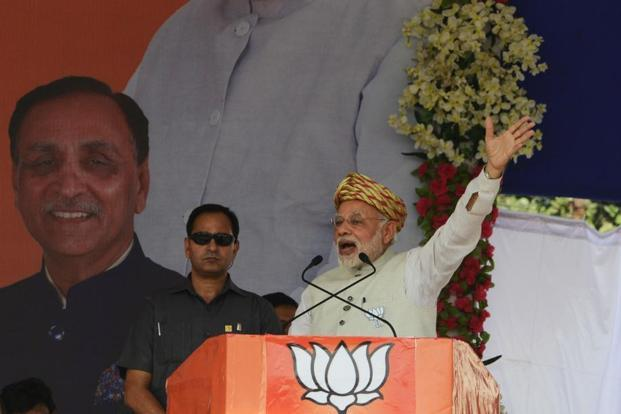 New poll finds Cong, BJP neck and neck in Gujarat