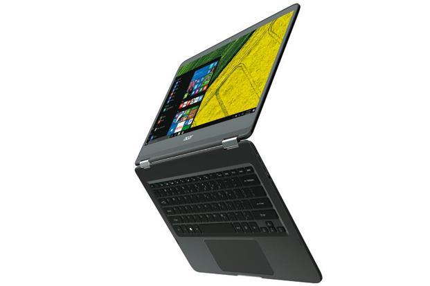 The Spin 7 convertible computing device from Acer is just 10.98mm thick and weighs 1.6kg.
