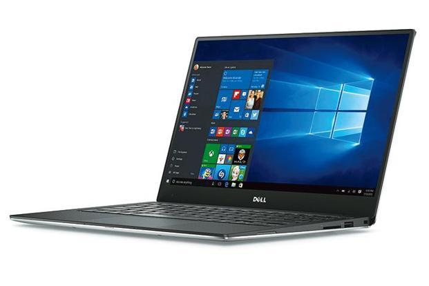 The flagship XPS 13 runs the newest eighth- generation Intel Core i5-8250U processor.