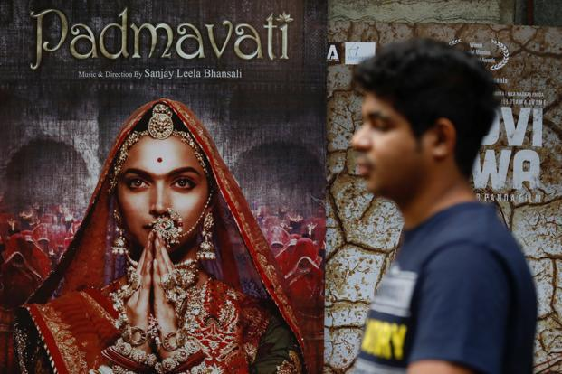 November's biggest news remained the protests against Sanjay Leela Bhansali's Padmavati and its consequent delay. Photo: Reuters