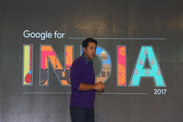 Caesar Sengupta, vice-president of Next Billion Users, Google's initiative to connect all Indians to the internet.