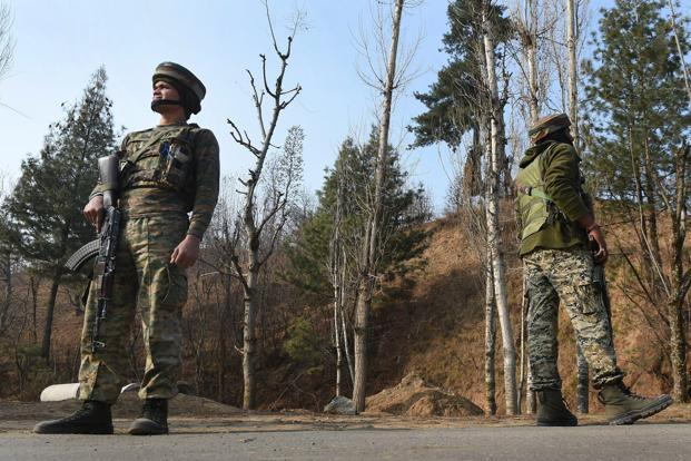 File photo. The security forces cordoned off the area and launched a hunt for the militants. Photo: PTI