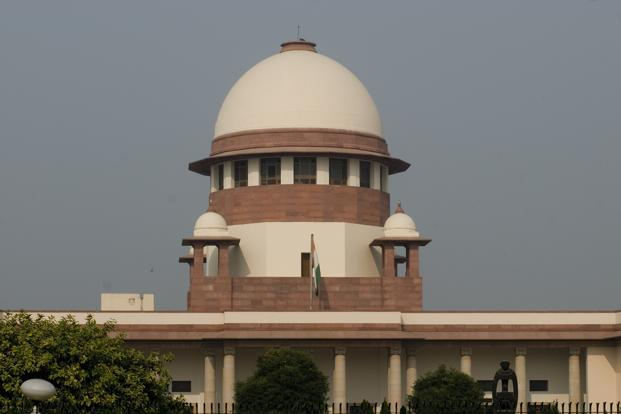 A Supreme Court bench is hearing a total of 13 appeals filed against the 2010 judgment of the Allahabad high court in four civil suits. Photo: Mint