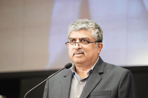 Infosys co-founder and chairman Nandan Nilekani. Photo: Mint