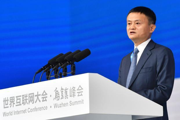 Alibaba Group's Jack Ma said China benefits from the stability of its single-party system, contrasting that with the unpredictability of US politics. Photo: AFP