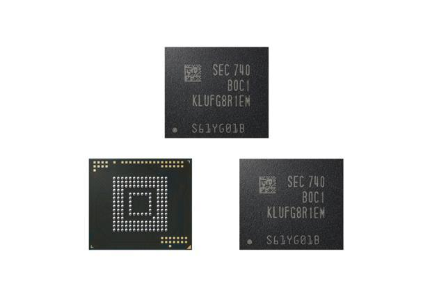 Samsung has started the production of a new 512GB Universal Flash Storage (eUFS) solution based on their latest 64-layer 512-GB V-NAND chips, for its next generation smartphones.