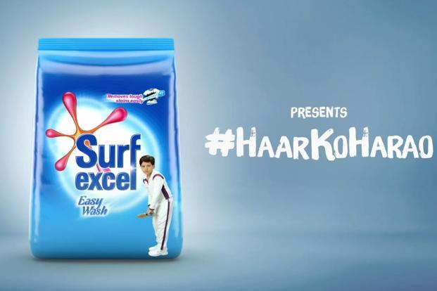 Surf Excel's new campaign 'Haar ko harao' features a team of young cricket players in conversation with their coach after losing their fifth consecutive match.