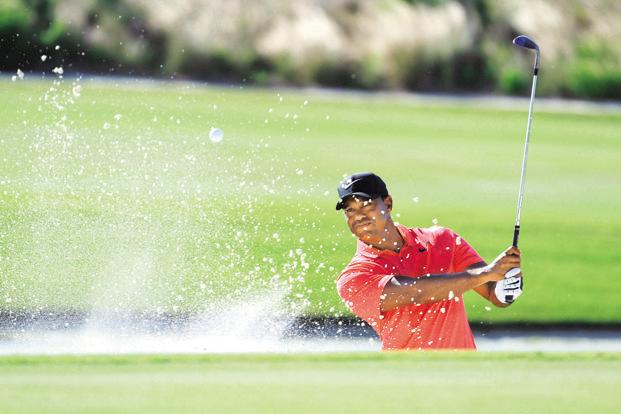 It has been four years since Tige Woods last won anything. Photo: AP