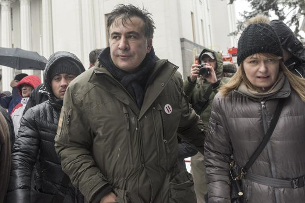 Ukraine arrests anti-corruption activist Saakashvili