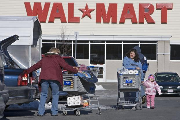 The company was known as Wal-Mart Inc. when it incorporated in 1969. It was changed to Wal-Mart Stores Inc. the following year, when it went public. Photo: Bloomberg