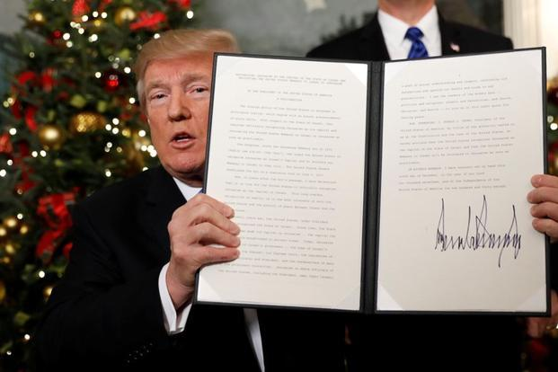 The hysteria surrounding the US recognition of Jerusalem as the capital of Israel is based on the fact that too much store is laid on Donald Trump baiting not enough attention is paid to what he said
