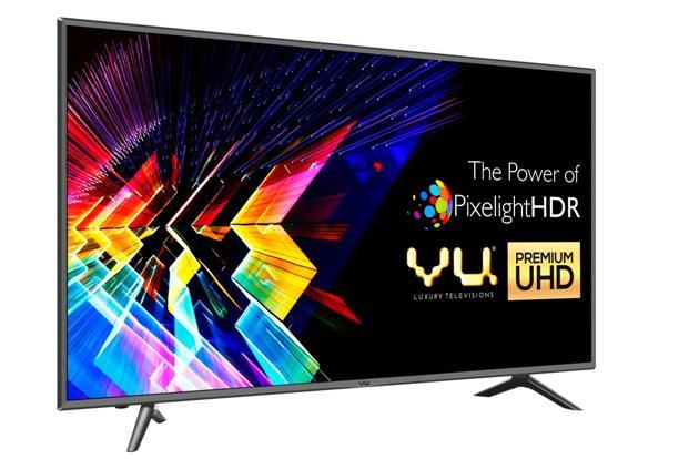VU's 50-inch 4K LED TV with resolution of 3,840x2,160p is available at a discount of Rs15,000.