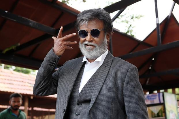 Actor Rajinikanth in a still from 'Kabali'.