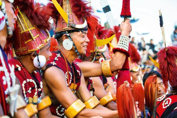 A file photo of Naga tribespeople at the Hornbill Festival. Photo: iStockphoto