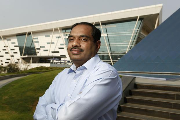 V. Balakrishnan, former chief financial officer of Infosys Ltd. Photo: Bloomberg