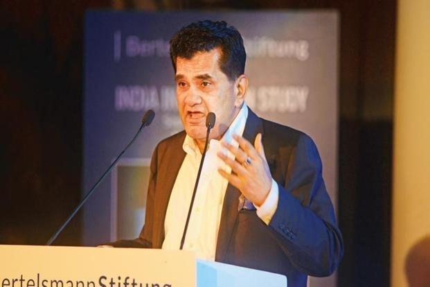 Amitabh Kant, chief executive of NITI Aayog. Photo: Ramesh Pathania/Mint