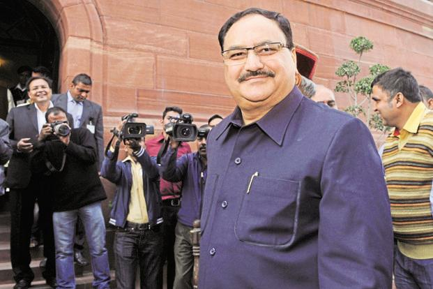 Health minister J.P. Nadda. Photo: Hindustan Times