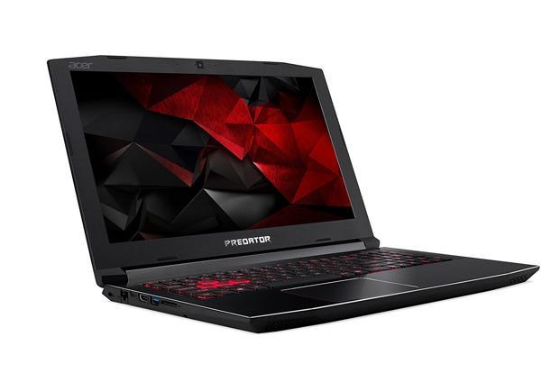 Acer Predator Helios 300 is powered by Intel Core i7 (7th gen) processor paired with 8GB RAM and Nvidia GeForce 1050ti (4GB) graphics.