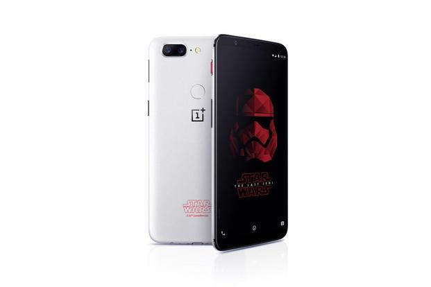 Unlike the regular OnePlus 5T, the new smartphone will have a white back with Star Wars logo printed on it.
