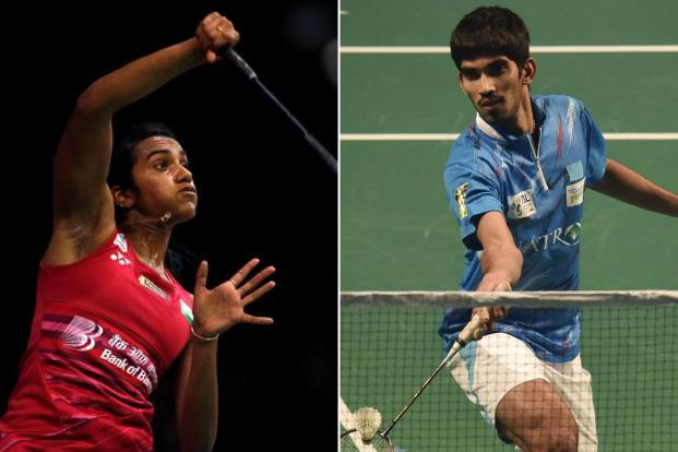 Badminton player Kidambi Srikanth at fourth position among men and P.V. Sindhu at third place among women have powered India's rise to the top of the charts this year. Photos by Reuters and HT