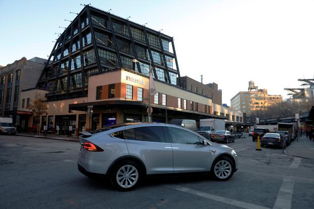 Tesla S Push Beyond Cars Is Now On Display In This New York Showroom Livemint