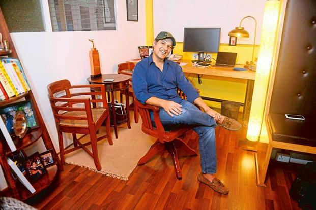 Ashish Hemrajani, CEO and co-founder of Bigtree Entertainment. Photographs by Abhijit Bhatlekar/Mint