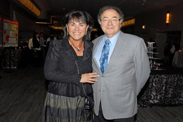 A file photo of Honey and Barry Sherman, chairman and CEO of Apotex Inc. Photo: Reuters