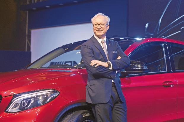 Mercedes-Benz India CEO Roland Folger also called for tax breaks on electric vehicles imported through the CBU (completely built unit) route to make for a 'sustainable business case'. Photo: Abhijit Bhatlekar/Mint