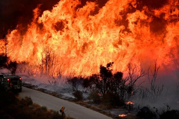 California's wildfire now ranks as state's third-largest