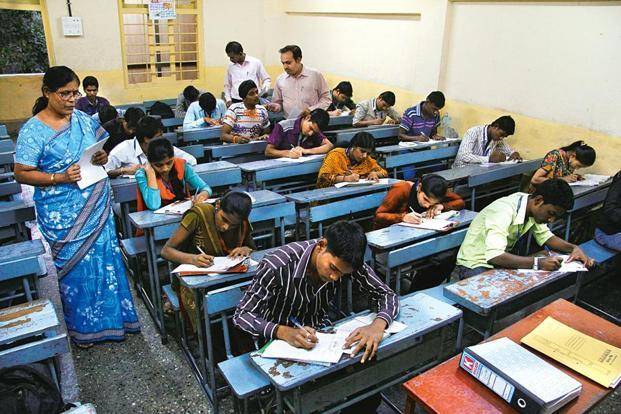 The CBSE has conveyed its inhibitions to the HRD ministry about conducting the exams in future, saying they are overburdened with the massive exercise. Photo: HT