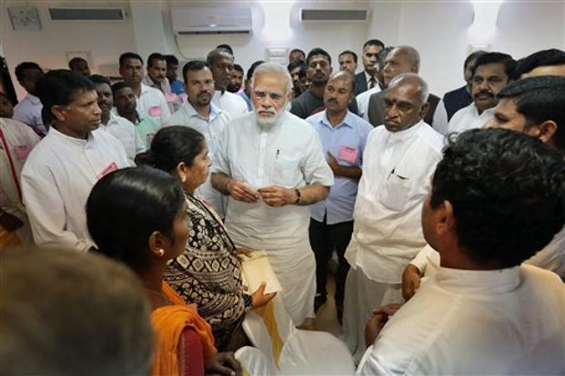 PM Modi Visits Lakshwadeep, Kerala To Oversee Damage Done By Cyclone Ockhi