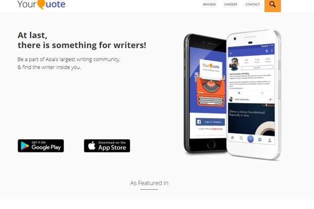 Content Sharing Startup YourQuote Raises 60 Million From IDG Custom Create Quotes App