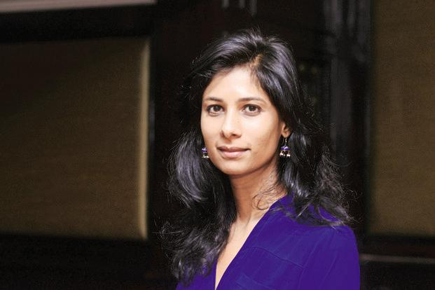 Harvard University professor Gita Gopinath sees government reforms such as PSU bank recapitalisation plan and the insolvency and bankruptcy code as steps in the right direction for the Indian economy. Photo: Ramesh Pathania/Mint