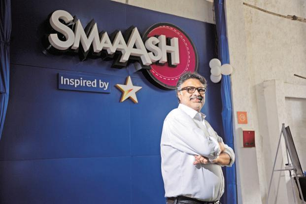 Smaaash Entertainment was started by Shripal Morakhia in 2012 with a 40,000ft centre in Mumbai. The company also has presence in the US. Photo: OnlyPix