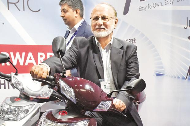 Reduction in GST is critical to achieve targets set under the govt's Faster Adoption and Manufacturing of (Hybrid &) Electric Vehicles policy, says Sohinder Gill, director, corporate affairs, SMEV and CEO, Global Hero Eco. Photo: HT