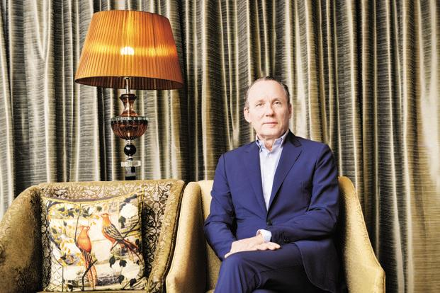 Gildo Zegna, CEO of Italian menswear luxury brand Ermenegildo Zegna, which recently completed 10 years in India. Photo: Aniruddha Chowdhury/Mint