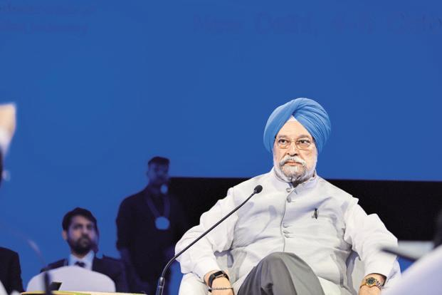 urban development minister Hardeep Singh Puri. The government's move to develop civic infrastructure across the country through AMRUT1 and the Smart Cities Mission requires significant capital spending by urban local bodies. Photo: Abhijit Bhatlekar/Mint