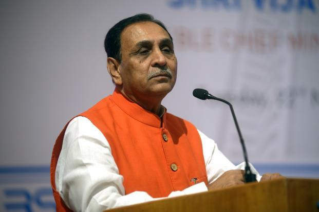 Vijay Rupani won the Rajkot West seat in the just-concluded Gujarat elections. Photo: Abhijit Bhatlekar/Mint