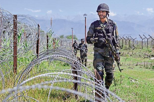 India Pakistan soldiers exchange fire on J&K border