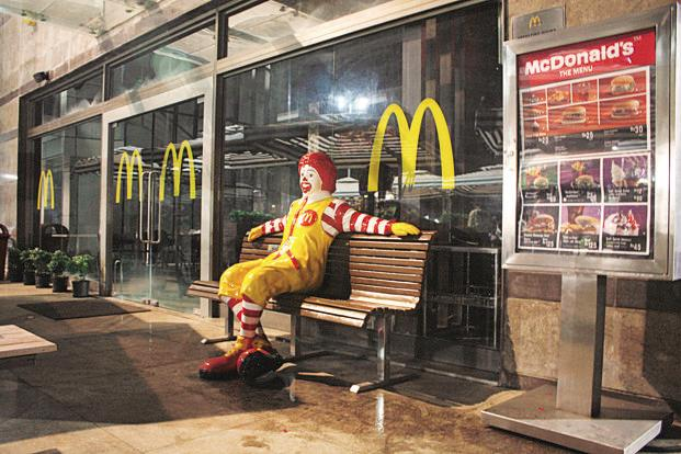 Connaught Plaza is a joint venture between McDonald's India Pvt. Ltd and Vikram Bakshi, and operates 169 McDonald's restaurants across north and east India. Photo: HT